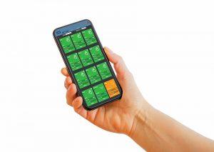Linx Printernet auf dem Smartphone