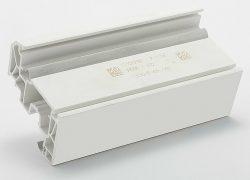 Laserbeschriftung mit Datamatrix auf PVC-Kunststoff