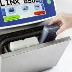 Tintenkartusche wechseln beim Inkjetdrucker Linx 8900