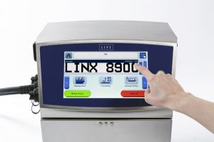 Linx 8900 Tintenstrahldrucker mit Touchscreen